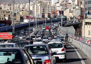 معابر تهران در چه ساعاتی بار ترافیکی بیشتری دارند؟