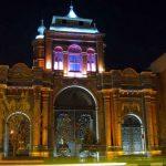 گردشگری شبانه : سر در باغ ملی ، شب ها هم باز می شود