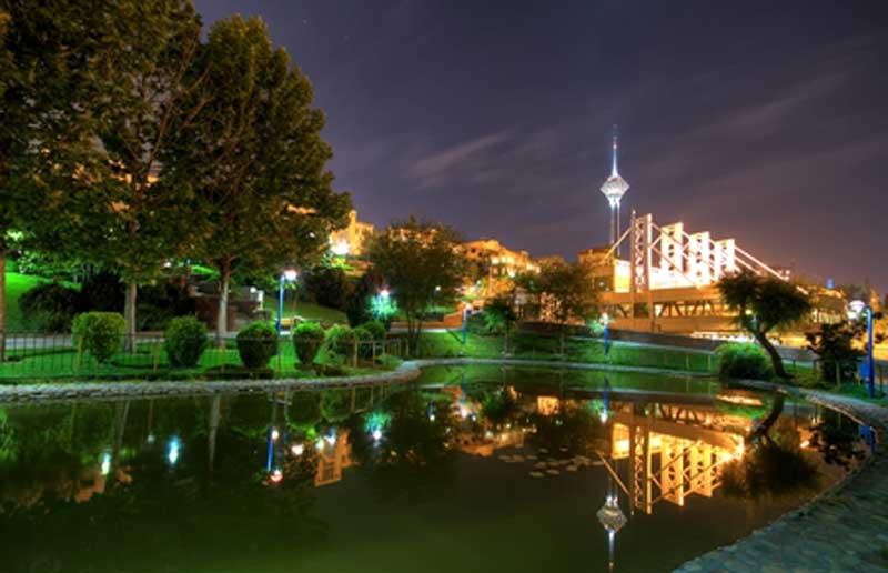 لیست پارک های دیدنی تهران