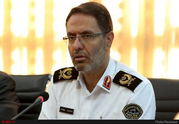 انتقاد رییس پلیس راهنمایی و رانندگی تهران بزرگ از عدم توجه به پیادهراهها در معابر شهری