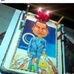 کیک تولد متفاوت و عجیب احسان علیخانی در ۳۶ سالگی اش