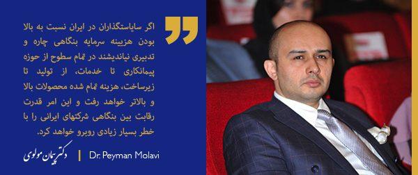 چگونه هزینه سرمایه ، قدرت رقابت بنگاه های ایرانی را تحلیل برده است ؟